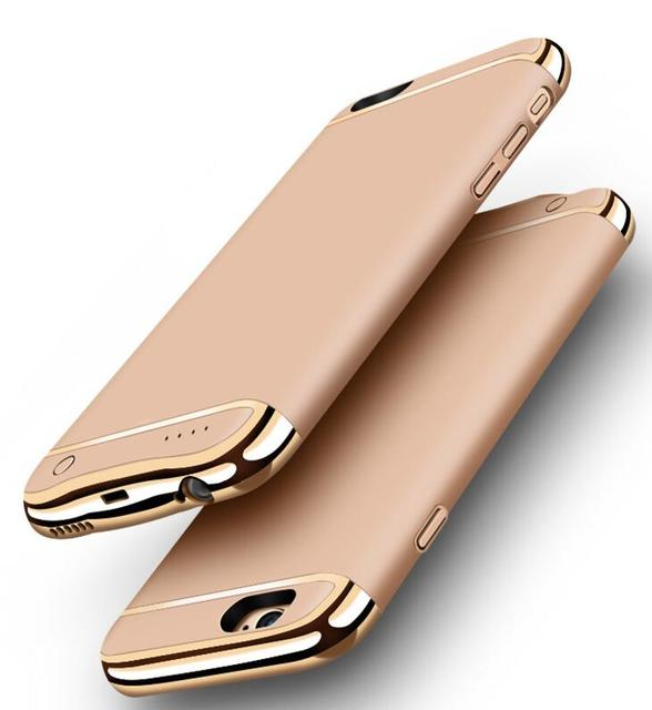 New Rechargeable External Backup Battery Case For iPhone 7 Plus Power Bank Case Cover for iPhone 7 Mobile Phone Charger Case