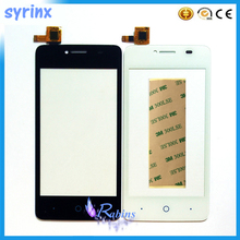 цена на 4.0 Touch Screen Panel For ZTE Blade AF3 A5 T221 Mobile Phone Front Glass Digitizer Panel Sensor Lens Replacement Free Shipping