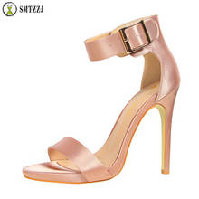 Luxury Open Peep Toe Women Summer Elegant Sandals Heel Pumps Brand Design Sexy Silk Classic High Heel Women Summer Shoes Party цена в Москве и Питере