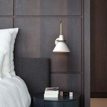 New Nordic wall lamp Bedside lamp Bedroom Modern  1