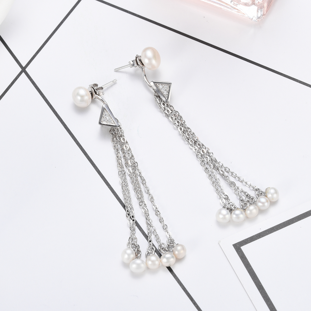 in stud flowers mujer women perolas vintage pearls for thailand from jewelry earrings reloj item silver style sterling hemp pearl