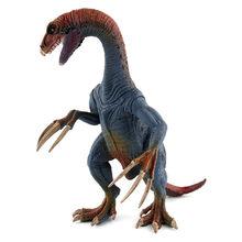 Caliente tiranosaurio Jurásico Pterosaurio Carnotaurus dinosaurios de plástico Therizinosaurus figuras de acción Animal juguete de colección