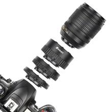 12mm 20mm 36mm Manual Focus N-AF Macro Extension Tube Set Mount For Nikon D3200 D7100 D5100 D5500 D5200 Digital SLR Camera