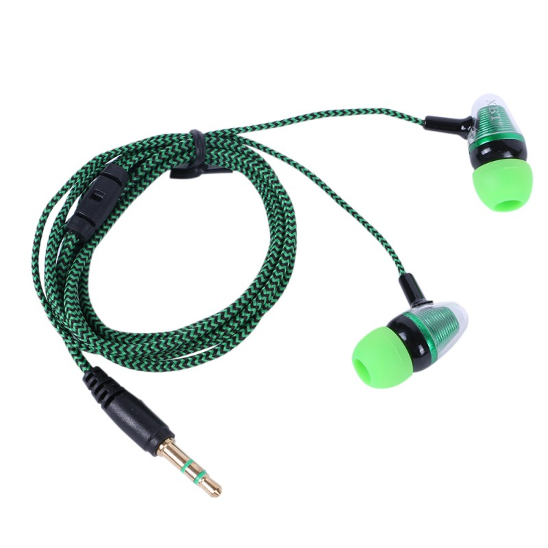 3.5mm Wired Earphone Earpiece Mobile Computer MP3 Universal Earphone With Cool Outlook Earpiece