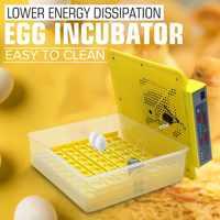 56 oeuf couveuse numérique entièrement automatique incubateur couveuse tournant poulet canard humidité contrôle de la température nouvelle machine à couver