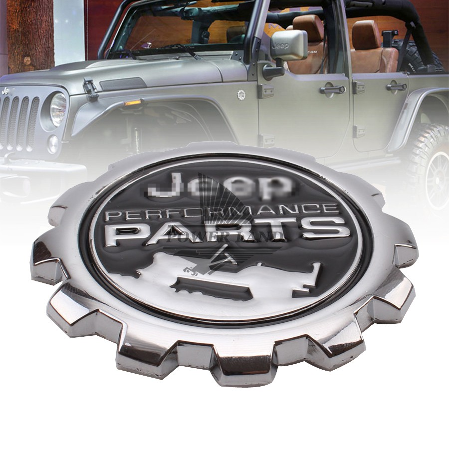 3d refitting metal chrome vintage vehicle car sticker badge emblem universal for jeep performance parts wrangler