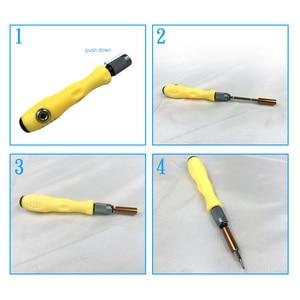Image 5 - Schraubenzieher sets Präzision Schraubendreher satz Von 32 In 1 Mini Magnetische Schraubendreher set Telefon Mobile Ipad Kamera Wartung Werkzeuge