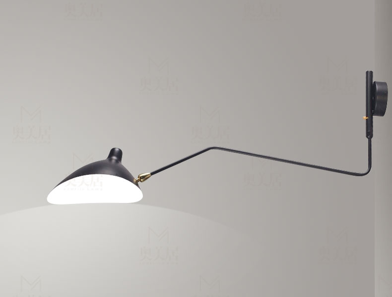 Online Shop Designer Serge Mouille Wall Lamp Lighting One Arm