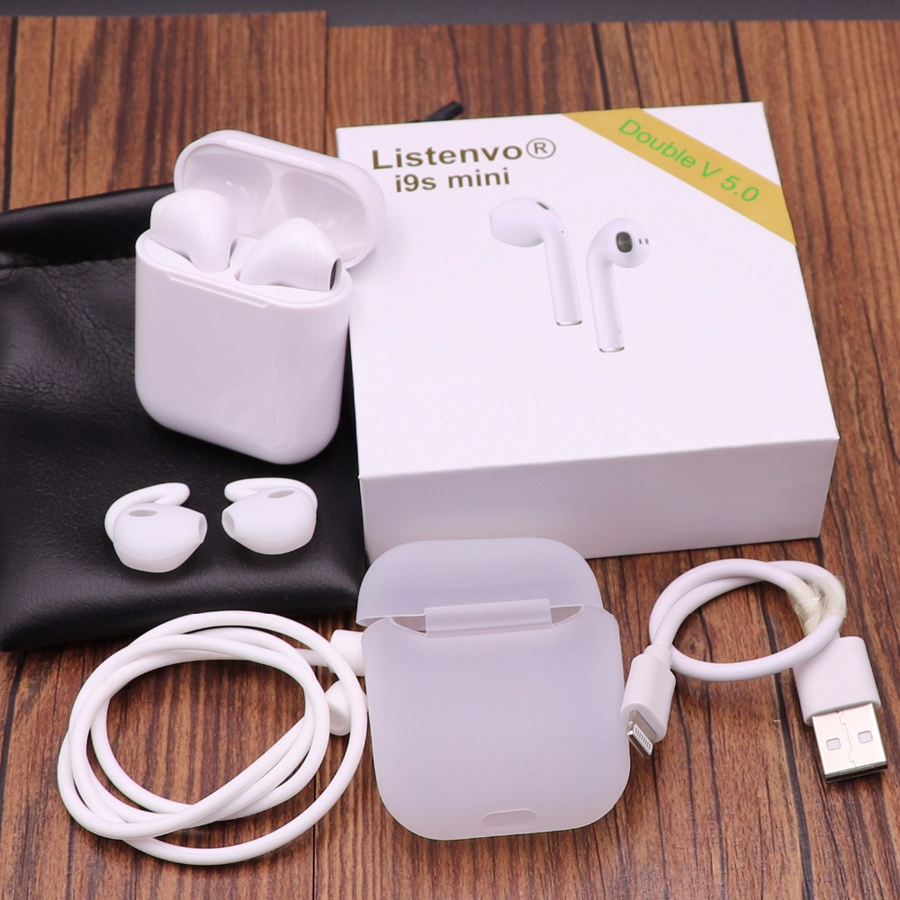 I9s estéreo mini tws/i10 tws aire vainas auriculares inalámbricos Bluetooth Auriculares auriculares para apple android Iphone