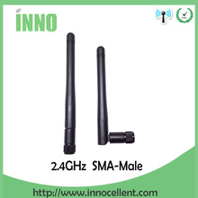 20pcs Wholesale 2.4GHz Antenna WIFI 3dbi SMA Male connector Aerial 2.4 ghz antena wi fi antenne White for Wireless wi-fi Router модем zte mf79 usb wi fi router черный