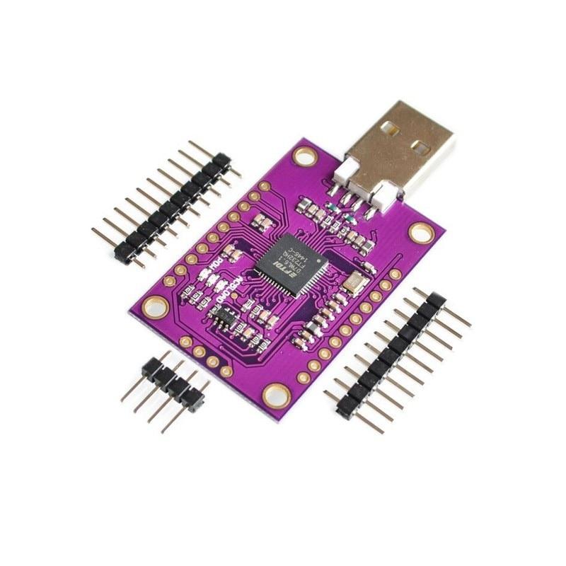 633.69руб. 5% СКИДКА|Высокоскоростной Многофункциональный USB к JTAG UART FIFO SPI I2C Модуль CJMCU FT232H|Интегральные схемы| |  - AliExpress