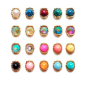 10pc Nails Stone Candy Color Popular Maxi AB Rhinestones Nail Decoration  NP260