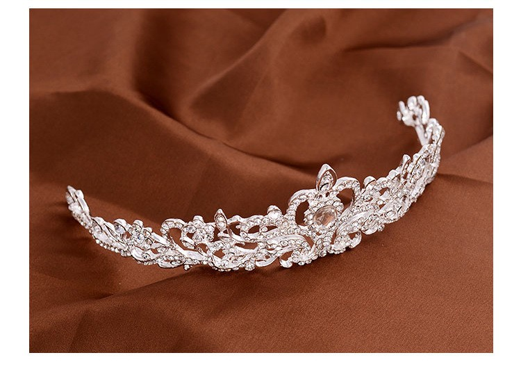 HTB1F9syLXXXXXXtaXXXq6xXFXXXR Magnificent Bridal Prom Pageant Crystal Inlaid Queen Tiara Crown - 2 Styles