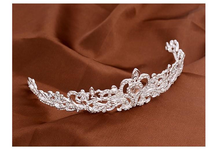 HTB1F9syLXXXXXXtaXXXq6xXFXXXR Magnificent Bridal Prom Pageant Crystal Inlaid Queen Tiara Crown - 2 Styles
