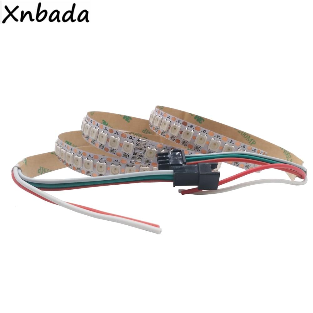 HTB1F9t4gbZnBKNjSZFrq6yRLFXaM 1m 2m 3m 4m 5m WS2812B WS2812 Led Strip,Individually Addressable Smart RGB Led Strip,Black/White PCB Waterproof IP30/65/67 DC5V
