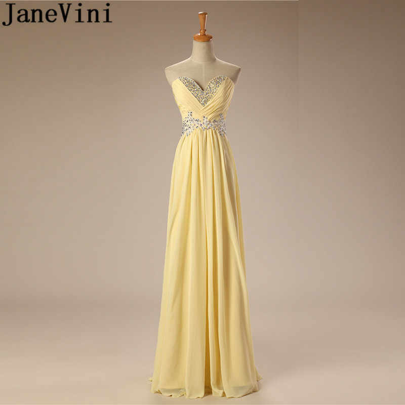 1c766f22b6e Detail Feedback Questions about JaneVini Elegant Sweetheart Floor Length Long  Wedding Guest Dress For Party Robe Demoiselle Sequined Bridesmaid Dresses  Lace ...