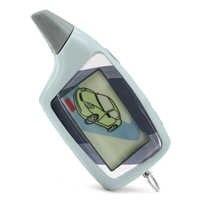 Scher Khan M5 scher-khan M5 Magicar 5 porte-clés LCD système d'alarme de voiture bidirectionnelle nouvelle télécommande/transmetteur fm