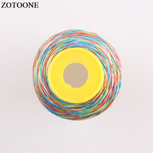 ZOTOONE 500D Polyester Machine Embroidery Sewing Threads Hand Thread Craft Patch Steering-wheel Supplies D
