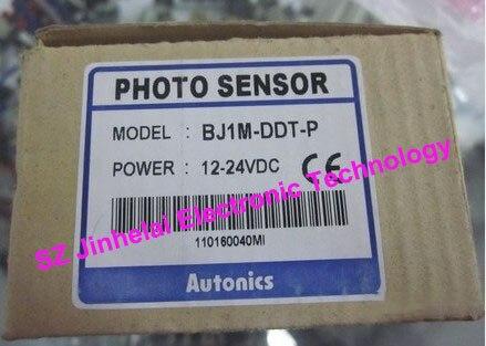 New and original  BJ1M-DDT, BJ1M-DDT-P   Autonics  PHOTO SENSOR  DC12-24V new original authentic sensor br400 ddt