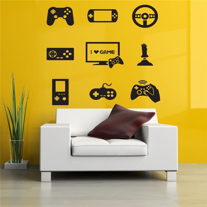 Game handle joystick palm game machine Home Decor Ideas Bedroom Kids ...