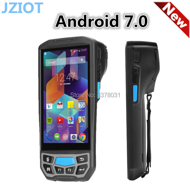 Rugged Portable Handheld Android Pos Terminal With Printer Nfc And Mobile Biometric Fingerprint Pda