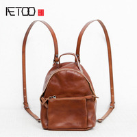 AETOO Shoulder Bag Female Leather 2017 New Korean Version Of The Wave Of Europe And The