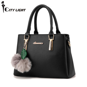2018 Europe fashion trend bag women handbag pu leather shoulder bag Litchi Pattern crossbody bag female package