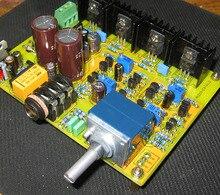E4 ダブル差動 fet 入力パワーアンプ基板キットクラス a mos パワーチューブ出力アンプ (718 軍事ゲージ抵抗)