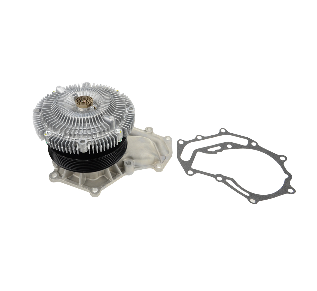 US $53 99  Water Pump and Fan Clutch for Nissan Patrol Wagon GU Y61 Navara  D22 ZD30 3 0TDI 2000 2007 21010VW226 One Year Quality Warranty-in Fans &