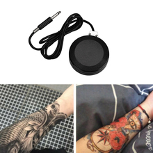 Top Quality Durable Round Tattoo Power Supply Foot Pedal Professional Equipment Switch For Machine