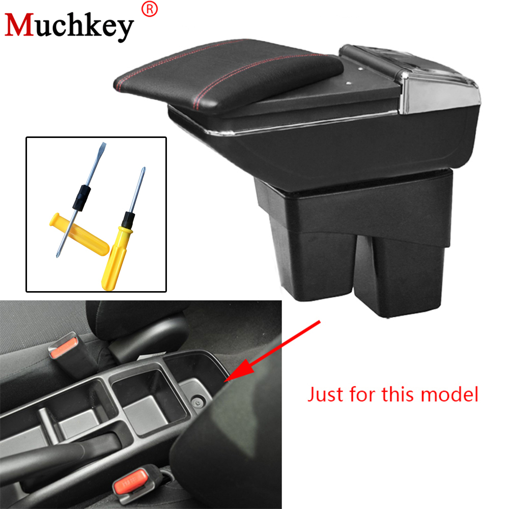 Armrest box For Honda Fit Jazz 2014 2015 2016 2017 2018 central Console Arm Store content box cup holder ashtray car styling free shipping car armrest central store content storage box with usb for honda fit 2002 2010 2016 2017 2015 2014 2013 2012 2011