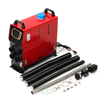 All In One 8000W Air diesels Heater 8KW 12V One Hole Car Heater For Trucks Motor-Homes Boats Bus +LCD key Switch+English Remote 1