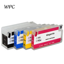 Refillable Ink Cartridge 955 955xl with ARC Chip for HP OfficeJetPro 7740 8216 8210 8702 8218 8715 8716 8717 8720 8730 8725 8735
