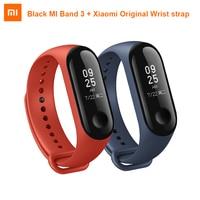 Original Xiaomi Mi Band 3 Smart Wristband MIBand 3 0.78 inch OLED Touch Screen Smartband MI Band 2+ Xiaomi Original Wrist strap