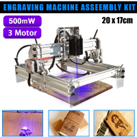 500/7000mW USB Desktop CNC Laser Engraver DIY Logo Mark Printer Laser Carving Machine Woodworking Machinery Parts