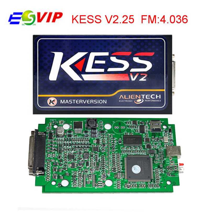 DHL Free Shipping KESS V2 V2.25 Newest OBD2 Manager Tuning Kit No Token Limit Kess V2 Master FW V4.036 Master Version  kess newest v2 28 obd2 tuning kit kess v2 fw4 036 sw2 28 ecu chip tuning tool free ecm titanium software free ship