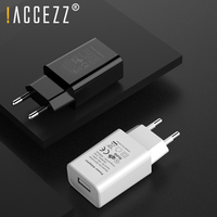 !ACCEZZ Universal USB Charger Adapter For iphone EU Plug Mobile Phone Wall Travel Charger For Samsung S8 S9 Xiaomi Huawei 5V 1A