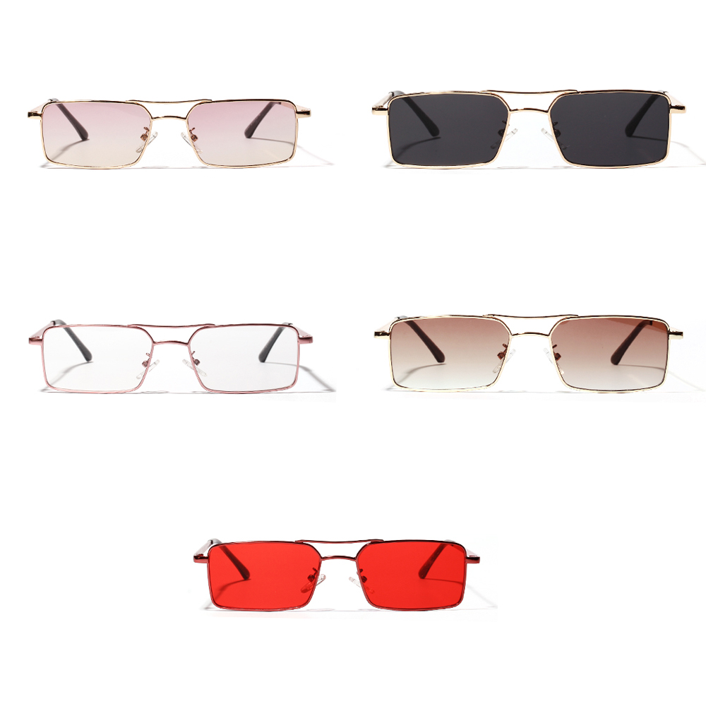 Women's Glasses cat Eye Semi Rimless Frame Sunglasses Women Female Uv400 Red Blue Lens Mirror Vintage Sun Glasses Brand Designer And To Have A Long Life. Back To Search Resultsapparel Accessories el Malus