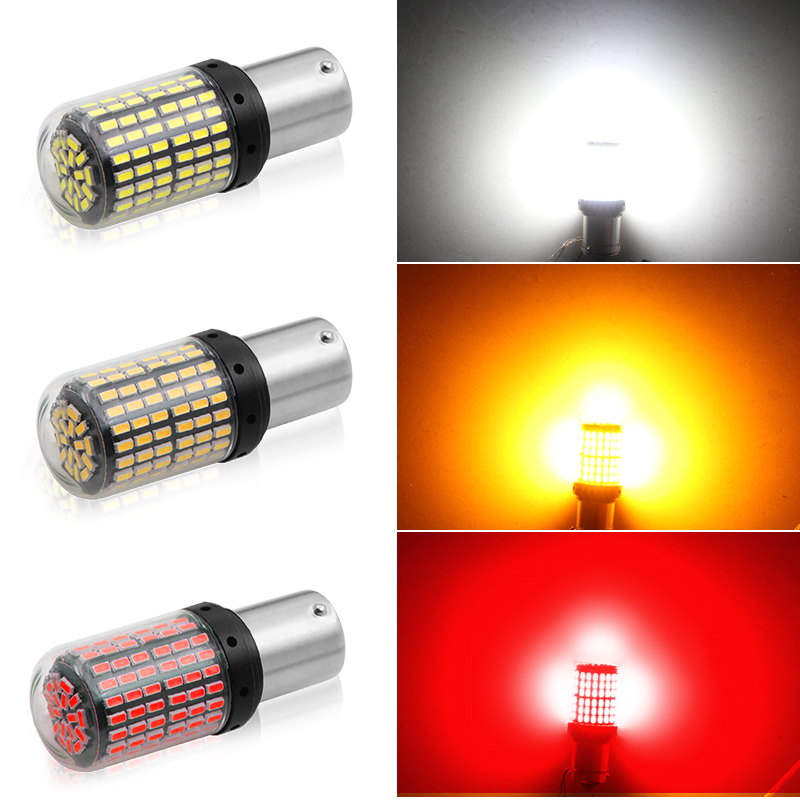 1x carro lâmpada led ba15s 1156 bay15d