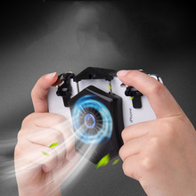 Mobile Phone Cooler Fan Holder Cooling Pad Gamepad Game Gaming Shooter Mute Radiator Controller Heat Sink Universal Port
