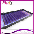 New and Special !Purple Color 0.07 J/B/C/D curl All  Length Eyelash extension ,Fashion False eyelashes for Party or Daily life