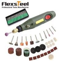 Portable Electric Wood Carving Tools Set Mini Electric Engraving Chisel Pen 30PCS Diamond Drill