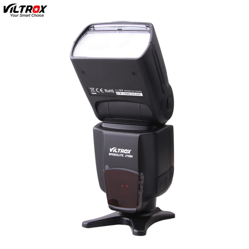 VILTROX Flash Speedlite JY-680 pour canon nikon 600D 1000D 5D 5D MARK II 1D D800 D200 appareil photo