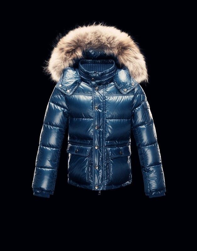 Winter Boy's Down Jacket Girl's Down Coat High Quality Children Natural Fur Snowsuits Kids Thick Outerwear Warm Pocket Parkas