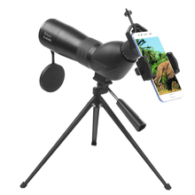 Askco 15-45X60 Zoom Spotting Scope HD Target Waterproof Monocular Telescope BAK4 Binoculars lll Night Vision For Birdwatching