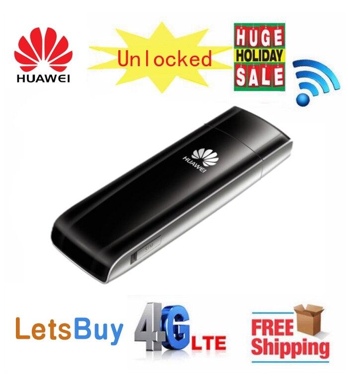 Débloqué Huawei E392 E392U-12 4G LTE Modem USB 4G clé USB LTE FDD 800/1800/2600 Mhz PK E3372