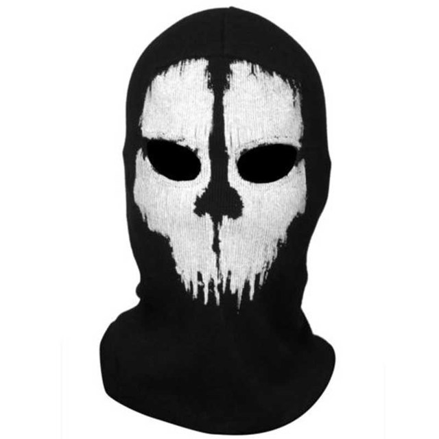 Mayitr 1pc Balaclava Skull Mask 4 Styles Ghost Skull Motorcycle Cycling Full Face Airsoft Game Cosplay Mask New 4