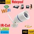 Câmera ip 720 p wi-fi sistema de segurança cctv à prova d' água sem fio infravermelho mini camaras de seguridad micro cam à prova de intempéries ao ar livre