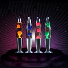 Hoomall 1PC Touch Schakelaar Tafel Lava Lamp Decoratieve Night Lights Slaapkamer Desk Night Lamp Kantoor Home Decor