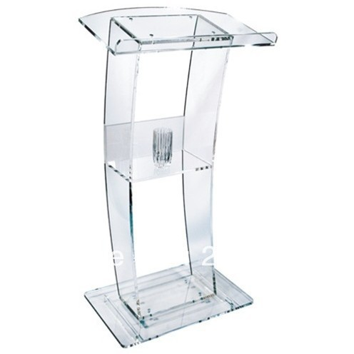 Acrylic Pulpit / Crystal Acrylic Church Lectern / Perspex Pulpit Plexiglass